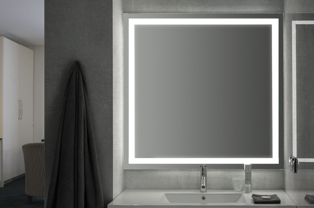 ADA Illuminated Mirror